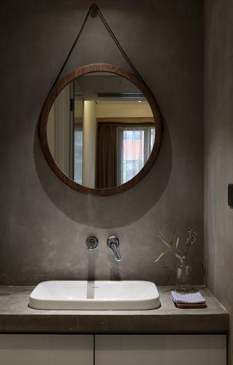 90平米三室一厅现代简约风格卫生间设计图