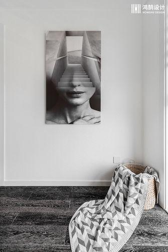 100平米三室两厅现代简约风格走廊装修案例