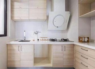 90平米三室一厅日式风格厨房图