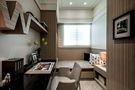 100平米三室三厅东南亚风格餐厅装修效果图