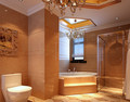 140平米四室四厅东南亚风格卫生间欣赏图