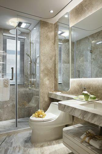 90平米三室两厅法式风格卫生间效果图