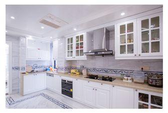 20万以上140平米四室三厅法式风格厨房欣赏图