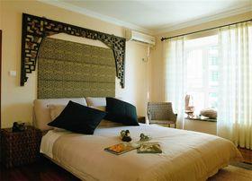 70平米田园风格卧室图片