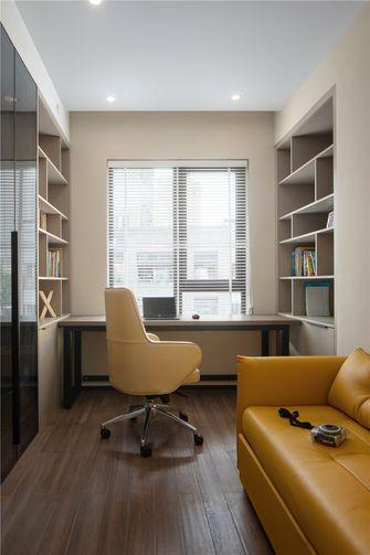 140平米三室两厅现代简约风格书房图