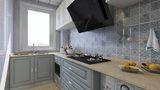 50平米地中海风格厨房欣赏图