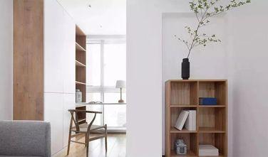 120平米三室两厅北欧风格书房图片大全