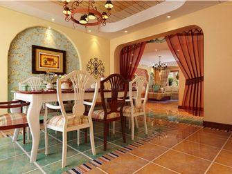 15-20万140平米四室四厅东南亚风格餐厅装修图片大全