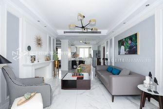 90平米三美式风格客厅欣赏图