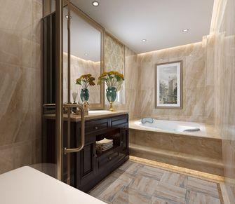 140平米复式欧式风格卫生间设计图