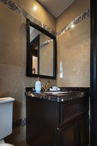 130平米三室两厅新古典风格卫生间效果图