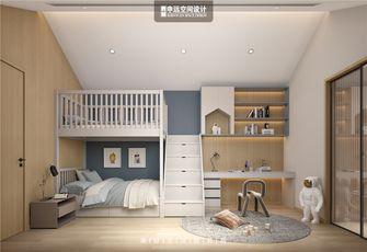 140平米别墅日式风格儿童房装修案例
