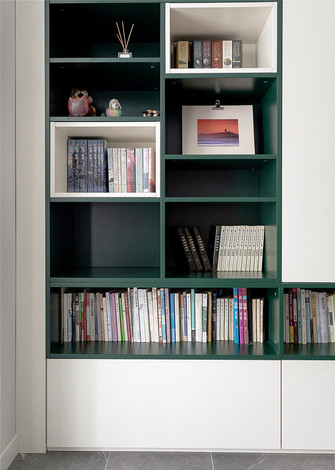 70平米公寓北欧风格书房效果图