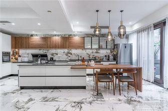 140平米别墅现代简约风格厨房效果图
