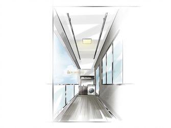 30平米以下超小户型现代简约风格阳台欣赏图