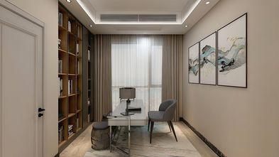110平米三室两厅现代简约风格书房效果图
