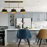 140平米三室两厅混搭风格厨房装修案例