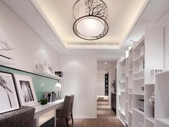 110平米三室两厅现代简约风格书房图片