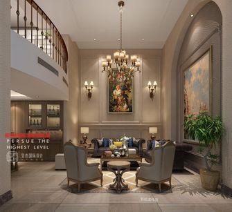 140平米别墅美式风格客厅效果图