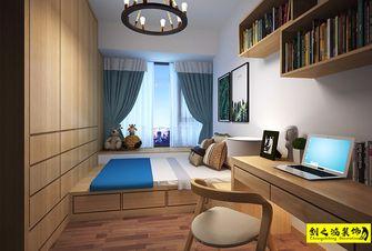 100平米三室两厅中式风格卧室设计图