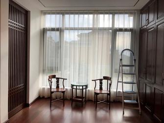 120平米三室两厅中式风格阳光房装修效果图