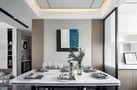 130平米三室两厅宜家风格餐厅图片大全