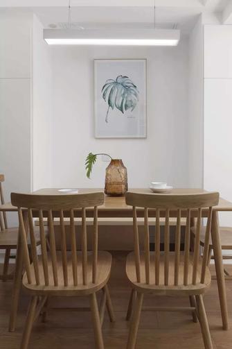 130平米四室一厅日式风格餐厅效果图