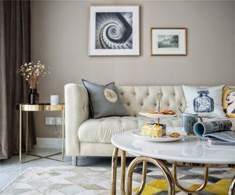 110平米三室两厅欧式风格客厅效果图