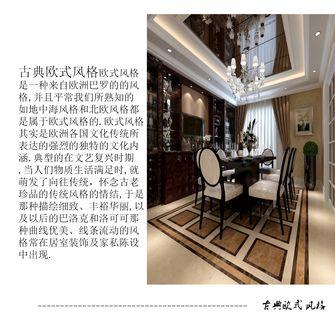 140平米一室两厅欧式风格餐厅装修图片大全