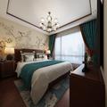 120平米中式风格卧室效果图