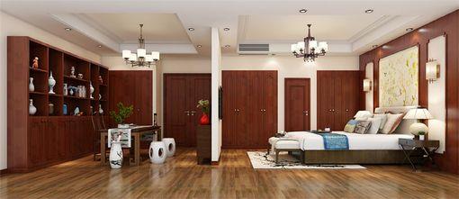 140平米四室三厅中式风格卧室欣赏图