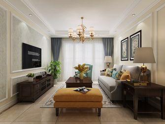 经济型110平米三美式风格客厅装修图片大全