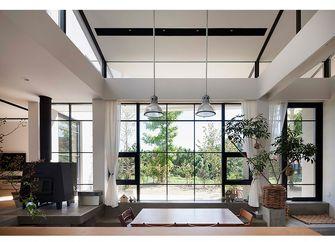 90平米英伦风格客厅装修效果图
