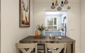 90平米三室两厅美式风格餐厅设计图