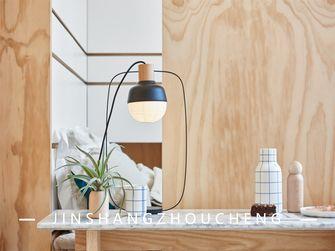 60平米公寓日式风格书房图