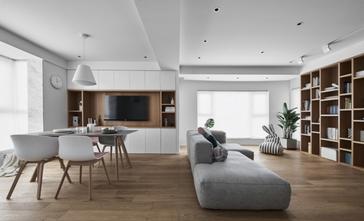日式风格客厅图