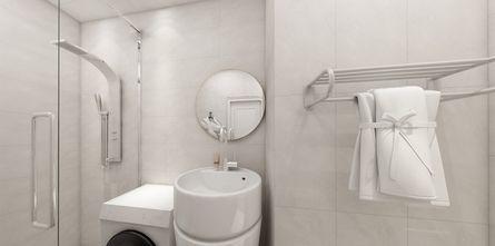 50平米一室一厅日式风格卫生间装修案例