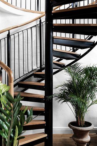 60平米一居室现代简约风格楼梯间装修效果图