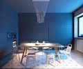 70平米宜家风格餐厅图
