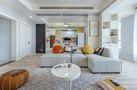 120平米三室三厅北欧风格客厅装修效果图