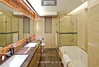140平米复式现代简约风格卫生间浴室柜装修案例
