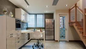 140平米復式日式風格客廳設計圖