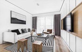 80平米三室兩廳北歐風格客廳圖片大全