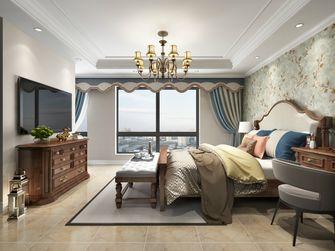 140平米四美式风格卧室效果图