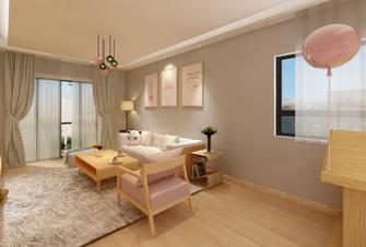 80平米一居室北欧风格客厅图