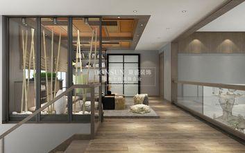 140平米复式现代简约风格阁楼装修图片大全