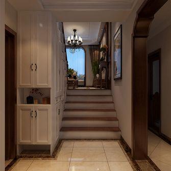 140平米复式新古典风格楼梯间图片