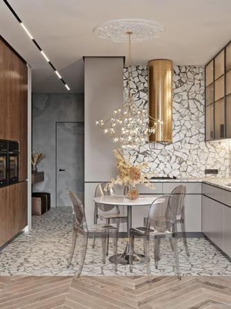 50平米小户型新古典风格餐厅装修案例