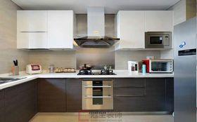 富裕型120平米三室兩廳美式風格廚房效果圖