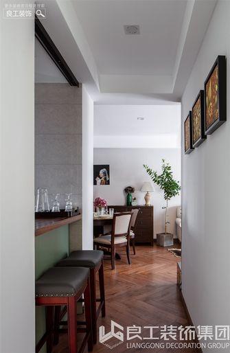 80平米三室一厅美式风格餐厅装修效果图